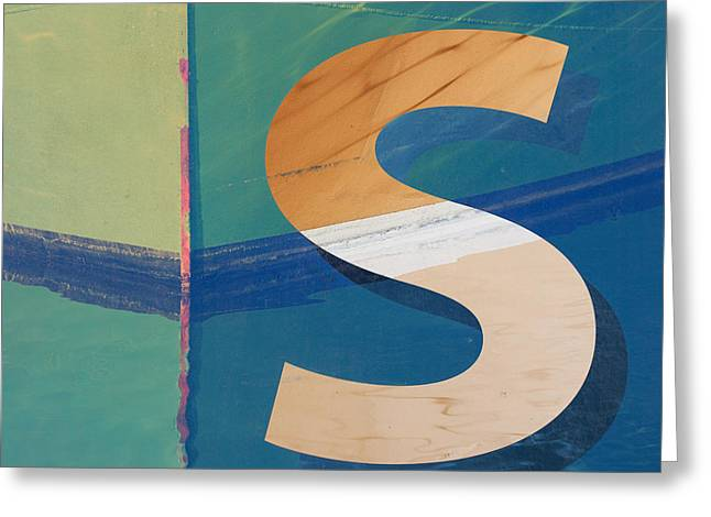 Seaworthy S Greeting Card by Carol Leigh