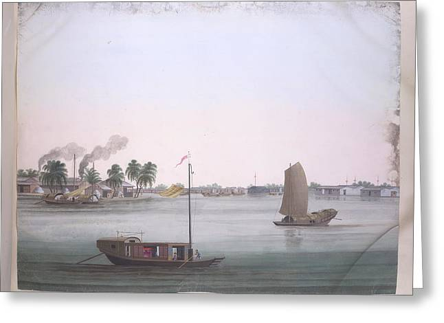 Several Boats Greeting Card by British Library