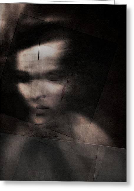 Shadows (splitting) Greeting Card