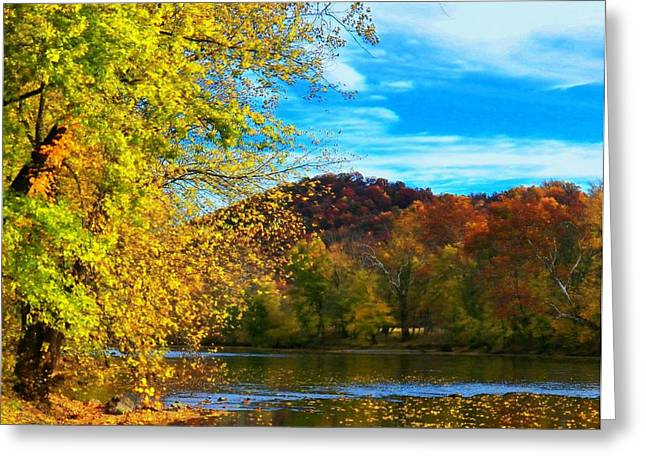 Shenandoah River View Greeting Card