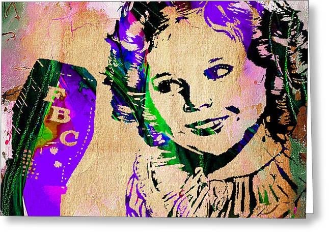 Shirley Temple Collection Greeting Card