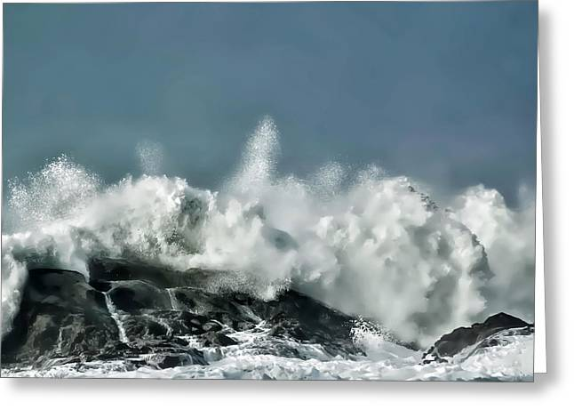 Shore Acres 7 Greeting Card by Kenneth Haley