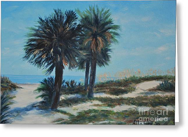 Singleton Beach Greeting Card