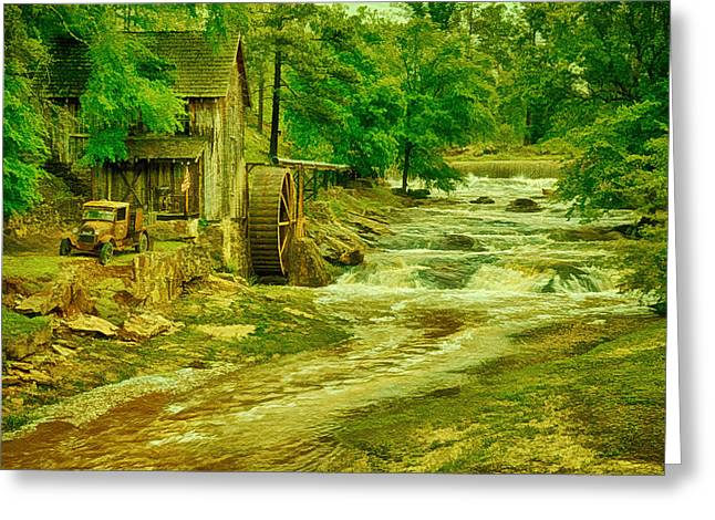 Sixes Mill Greeting Card by Priscilla Burgers