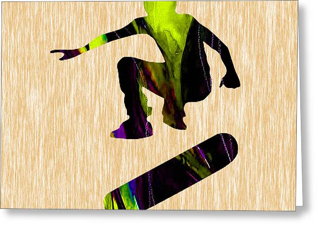 Skateboarder Greeting Card