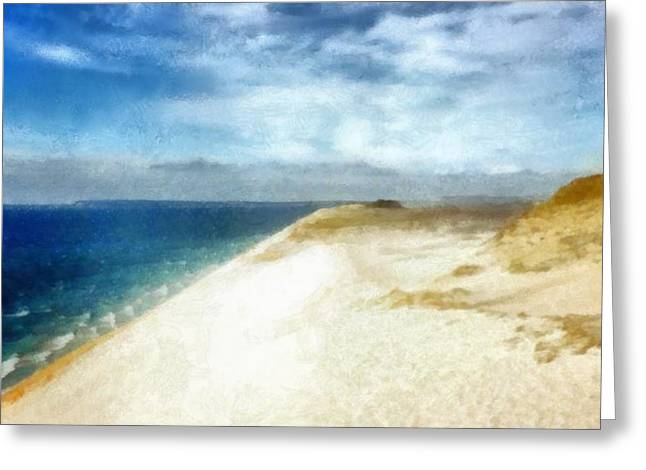 Sleeping Bear Dunes National Lakeshore Greeting Card