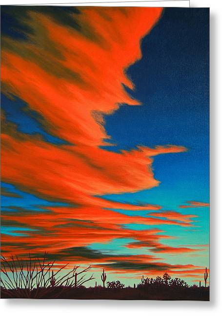 Sonoran Sky Greeting Card