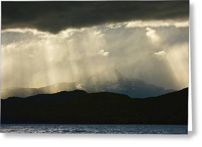 South America, Chile, Torres Del Paine Greeting Card by Jaynes Gallery