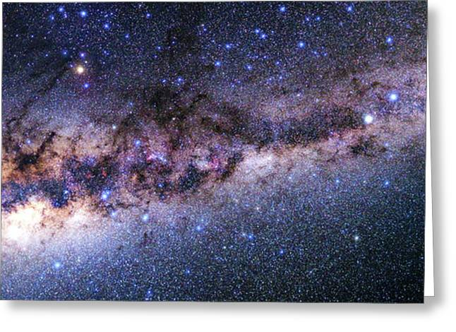 Southern View Of The Milky Way Greeting Card