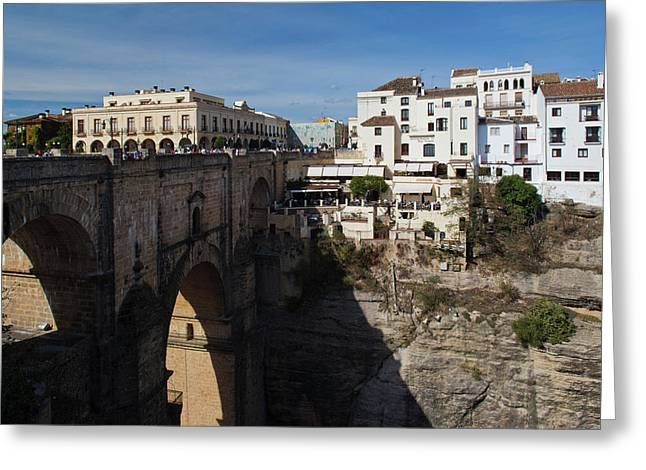 Spain, Andalucia Region, Malaga Greeting Card