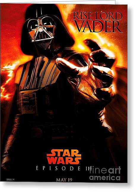 Star Wars Episode IIi Greeting Card by Baltzgar