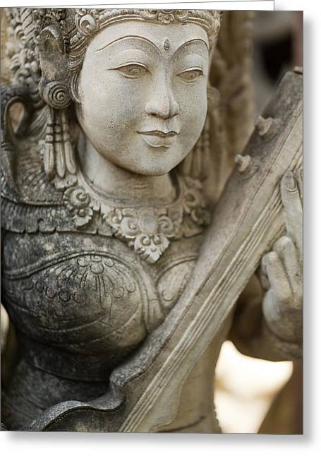 Statue - Bali Greeting Card