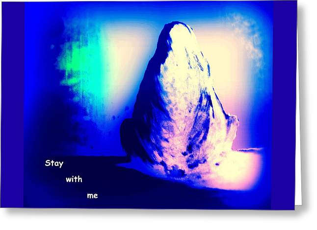 Stay With Me, Make Me Sway  Greeting Card