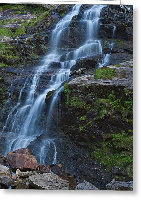 Steall Falls Greeting Card