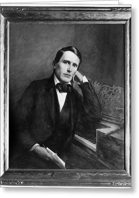 Stephen Collins Foster (1826-1864) Greeting Card by Granger