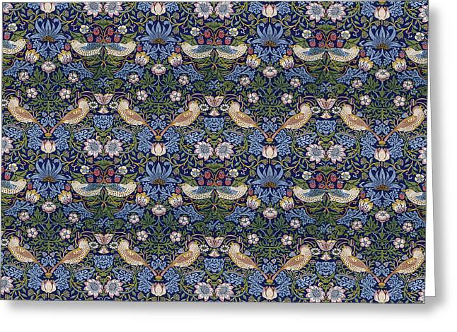 Strawberry Thief  Greeting Card by William Morris