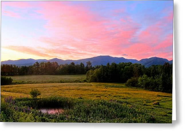 Sugar Hill Sunrise Greeting Card by Andrea Galiffi