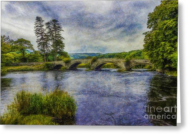 Summer River Greeting Card by Ian Mitchell