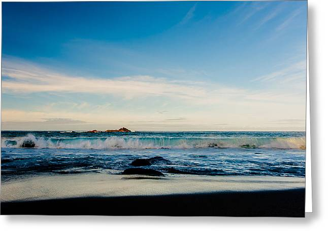Sunlight On Beach Greeting Card