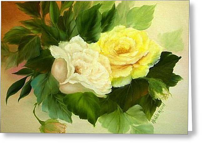 Sunny Side Up Greeting Card by Francine Henderson