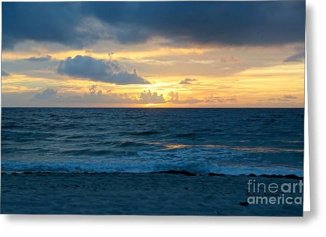 Sunrise In Deerfield Beach Greeting Card