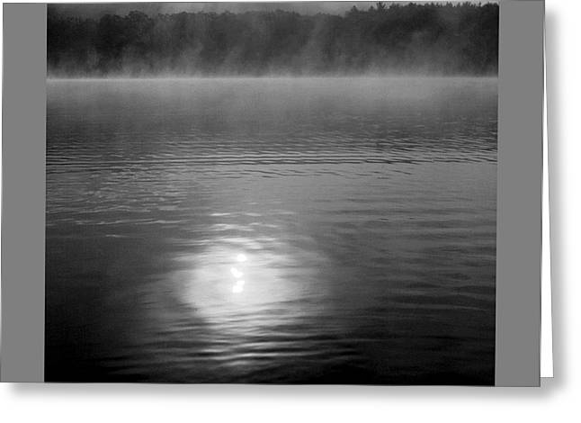 Sunrise Over Lower Lake Rhoda Greeting Card
