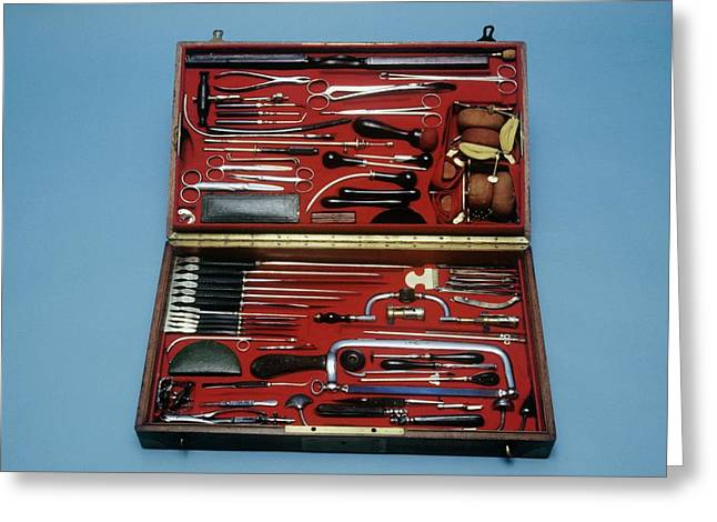 Surgeon's Instruments Greeting Card