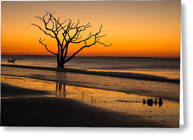 Greeting Card featuring the photograph Surreal Sunrise by Serge Skiba