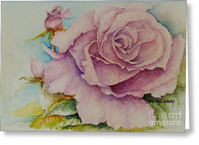 Susan's Rose Greeting Card