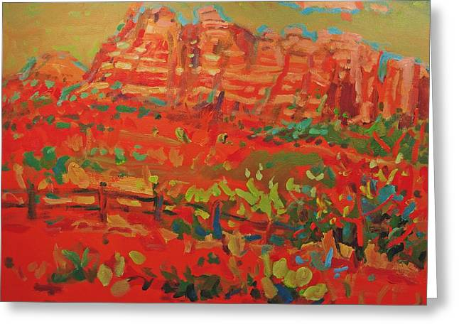 Sw Landscape Greeting Card by Brian Simons
