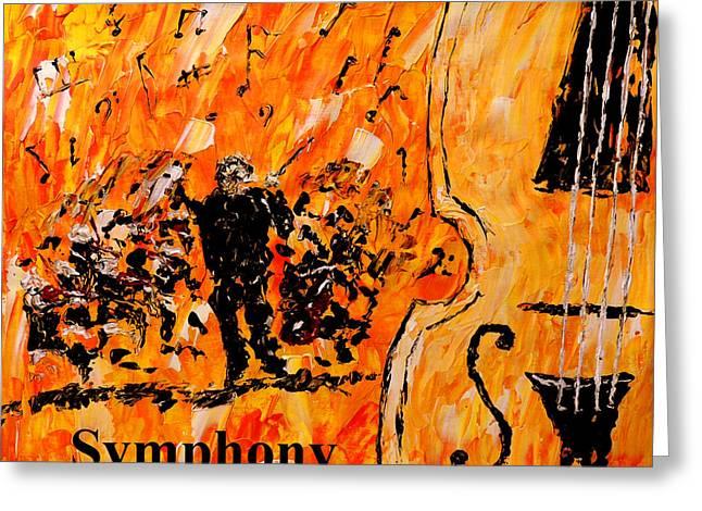 Symphony Greeting Card
