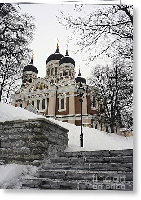 Tallinn Estonia Greeting Card