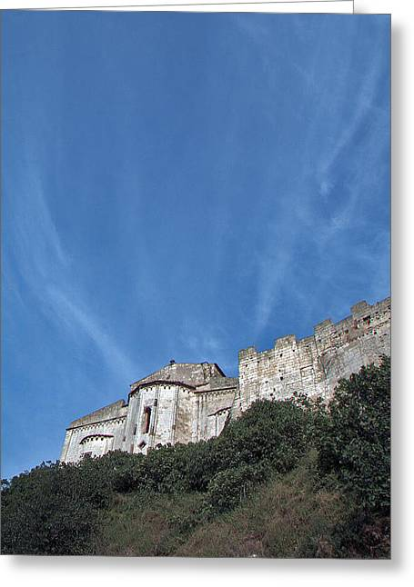 Tarquinia The Walls And The Apse Greeting Card