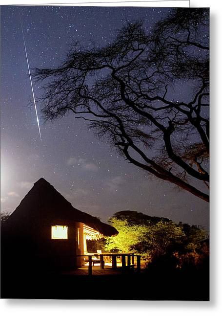 Taurid Meteor Shower Greeting Card