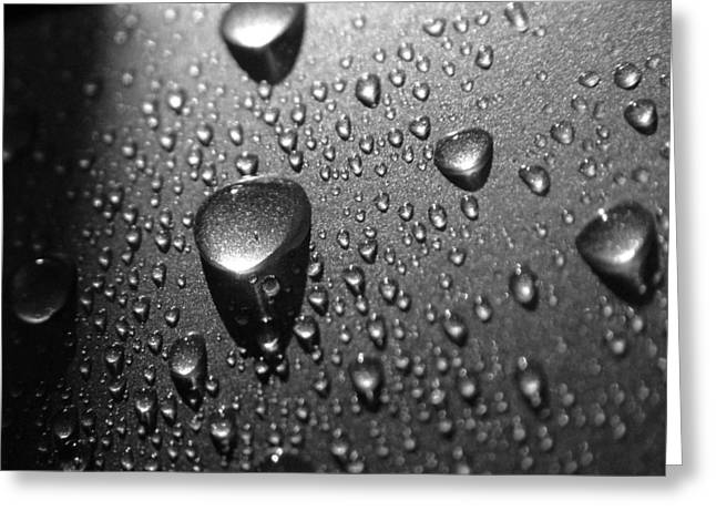 Teardrops Greeting Card by Gabor Fichtacher