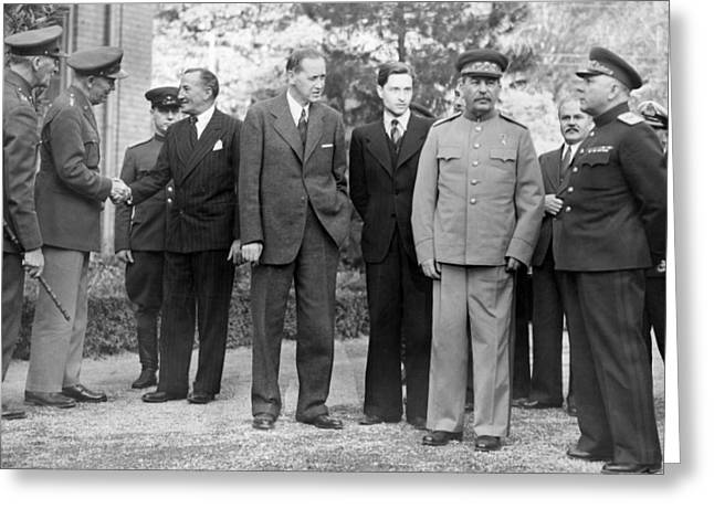 Tehran Conference, 1943 Greeting Card
