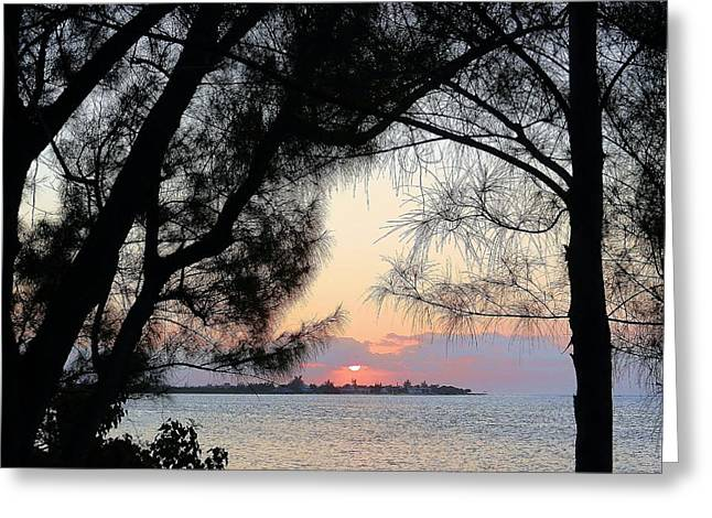 Greeting Card featuring the photograph Tequila Sunrise by Amar Sheow