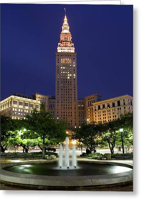 Terminal Tower Part Two Greeting Card
