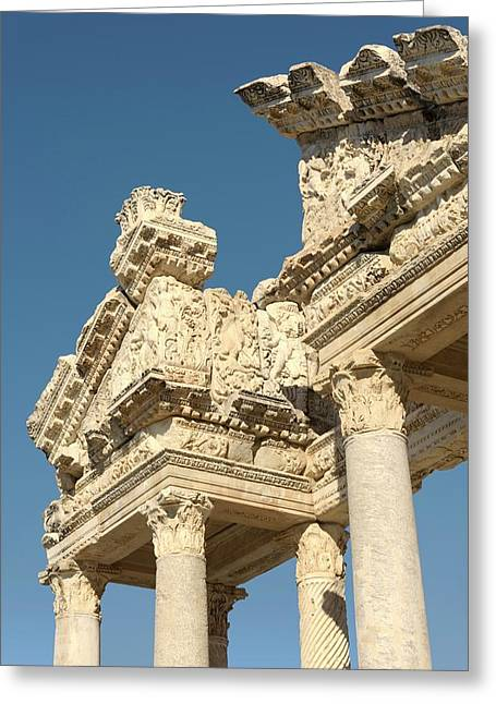 Tetrapylon At Aphrodisias Greeting Card
