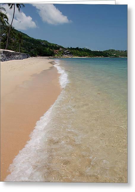 Thailand, Island Of Ko Samui (aka Koh Greeting Card by Cindy Miller Hopkins