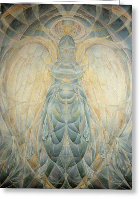 The Archangel Gabriel Greeting Card by Daniel Gautier