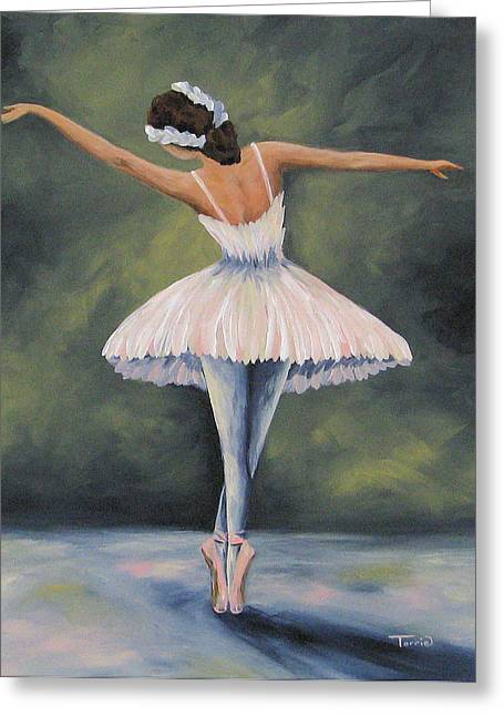 The Ballerina Iv Greeting Card