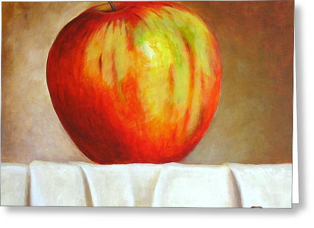 The Big Apple Greeting Card by Edgar Torres