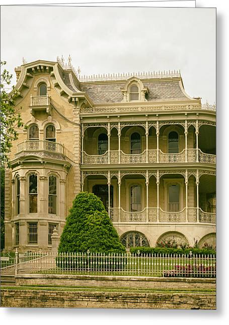 The Bremond House Greeting Card by Mountain Dreams
