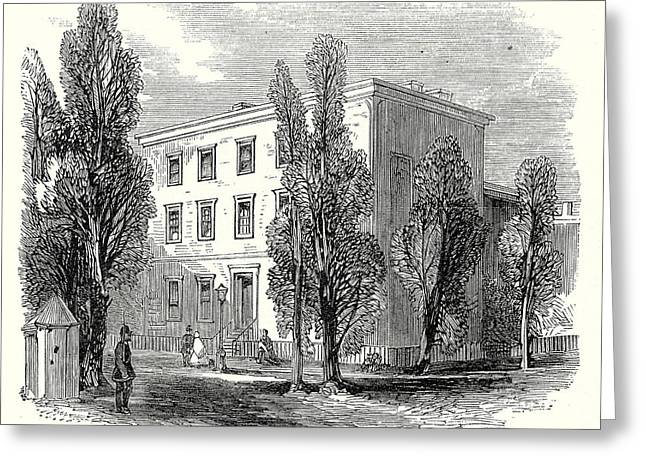 The Civil War In America Richmond Virginia Greeting Card by American School