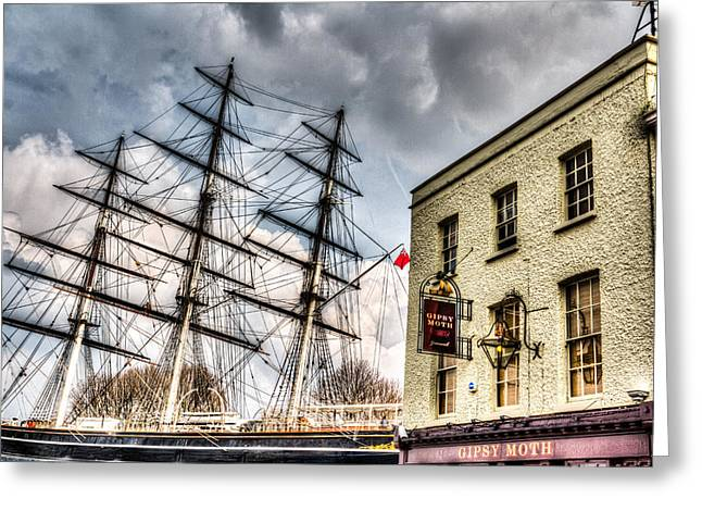 The Cutty Sark And Gipsy Moth Pub Greenwich Greeting Card
