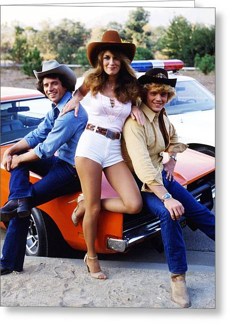 The Dukes Of Hazzard  Greeting Card