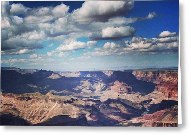 The Grand Canyon Greeting Card by Luisa Azzolini