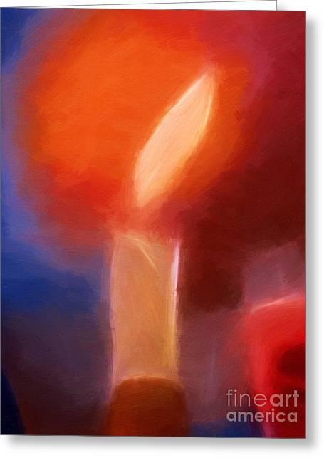 The Light Greeting Card by Lutz Baar