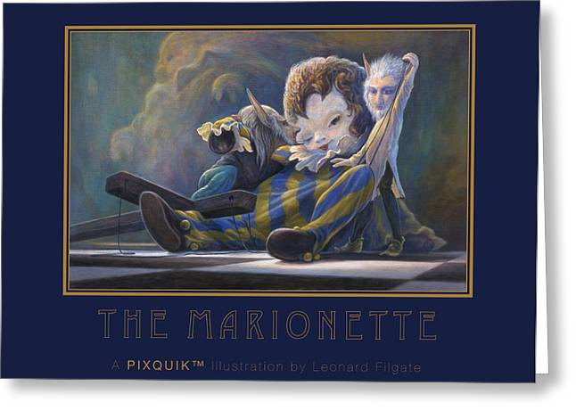 The Marionette Greeting Card